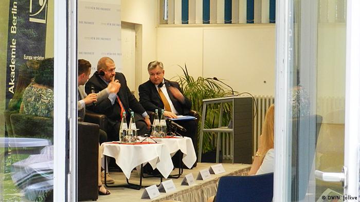 Дискусія в Берліні за участі Міхаеля Ґеорґа Лінка та Рефата Чубарова