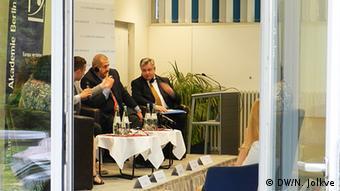 Дискуссия в Берлине с участием Михаэля Георга Линка и Рефата Чубарова