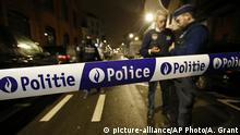 Belgien Brüssel Schaerbeek Polizei Anti Terror