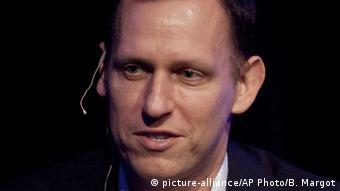 USA San Francisco Peter Thiel (picture-alliance/AP Photo/B. Margot)