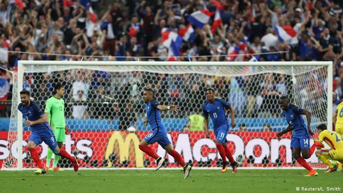 UEFA EURO 2016 - Frankreich vs. Rumänien - Jubel Frankreich 2. Tor