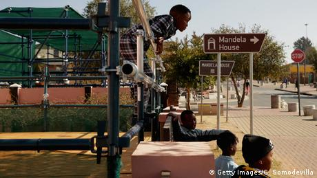 Children play in Soweto's Vilikazi Street