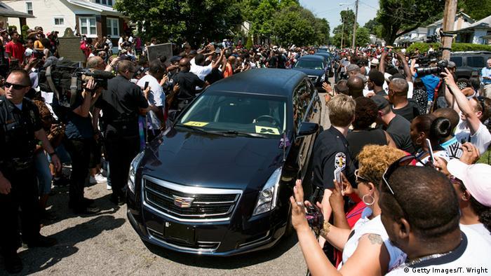 USA Beerdigung von Muhammad Ali in Louisville, Kentucky