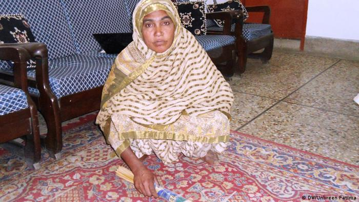 Pakistan Karatschi A house maid