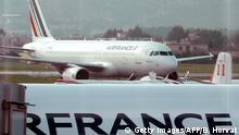 Marseille Air France Flugzeug