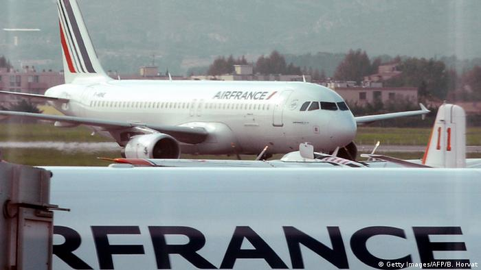 Marseille Air France Flugzeug (Getty Images/AFP/B. Horvat)