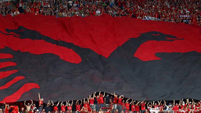 Вболівальники збірної Албанії