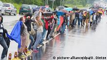 Deutschland Ramstein Proteste gegen Drohnenkrieg