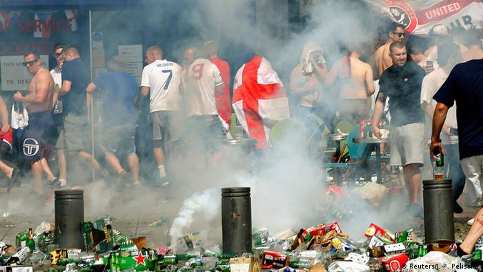 UEFA EURO 2016 rioting in Marseille (Reuters/J.-P. Pelissier)