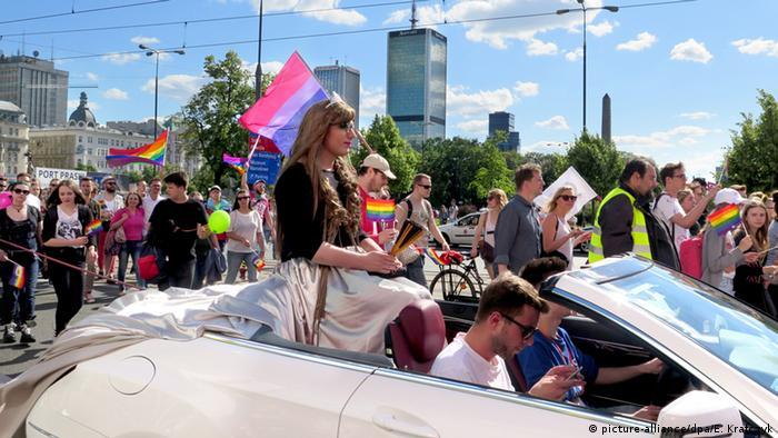 Paradă LGBT la Varşovia