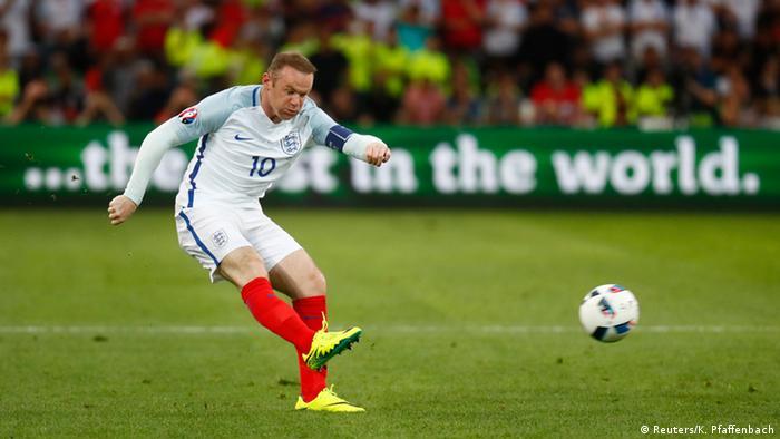 UEFA EURO 2016 England - Russland Wayne Rooney