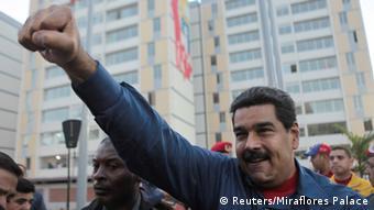 Para Amorim, o Brasil tem responsabilidades na crise da Venezuela. Na foto, o presidente Nicolás Maduro