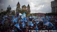 Guatemala Protest gegen Korruption