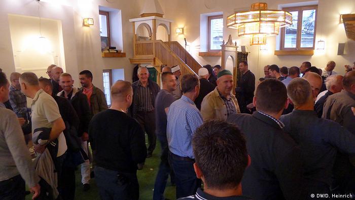 Bosnien Sarajevo Weiße Moschee Gemeinde