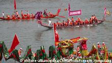 China Drachenbootfest Whenzhou