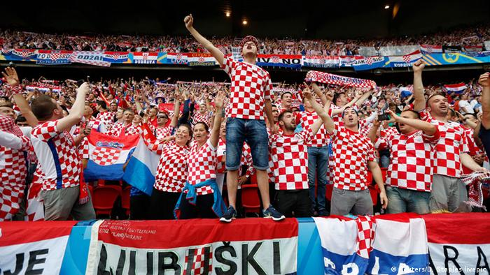 Croatian fans at the UEFA Euro 2016 (Reuters/D. Staples livepic)