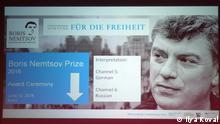 Bonn Verleihung Boris-Nemtsov-Preis