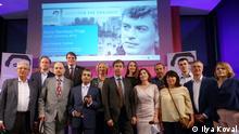 Alle wurden heute von mir während der Verleihung des ersten Boris-Nemtsov-Preises gemacht. Copyright: DW/I. Koval
