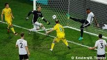 Frankreich Fußball-EM Deutschland vs. Ukraine in Lille
