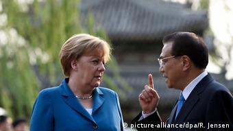 Angela Merkel and Li Keqiang