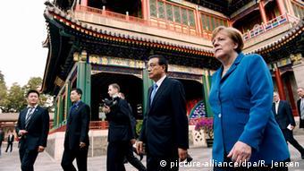 Από επίσκεψη της καγκελαρίου Μέρκελ στο Πεκίνο το 2016