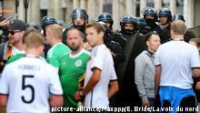 UEFA EURO 2016 Deutschland - Ukraine - Ausschreitungen in Lille