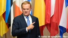 Brüssel EU-Ratspräsident Donald Tusk