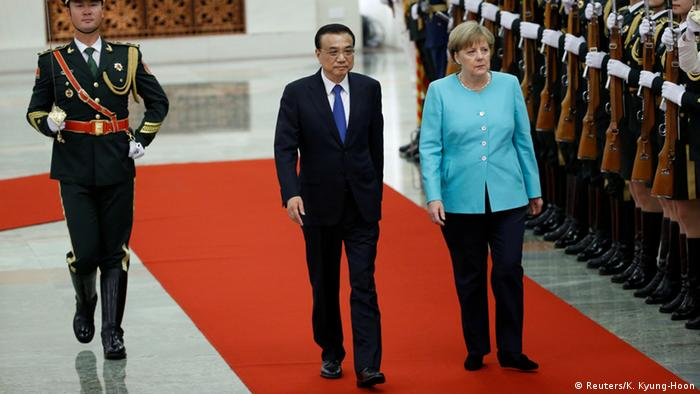 China Besuch Merkel in Peking bei Li Keqiang