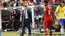 Fußball Copa America 2016 Dunga Trainer von Brasilien
