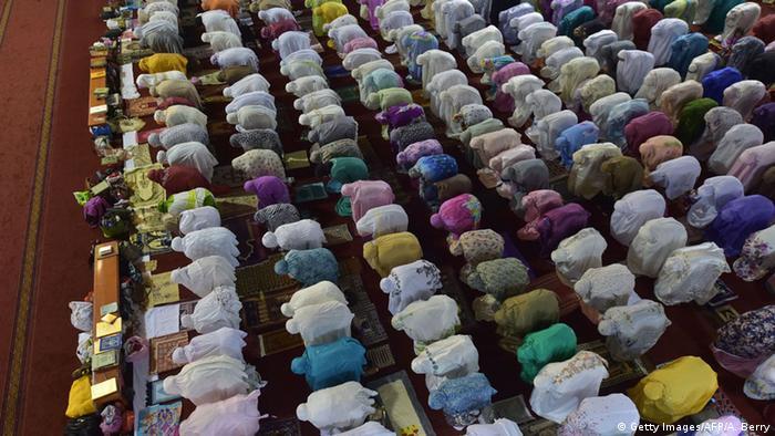 Indonesien Ramadan in Jakarta