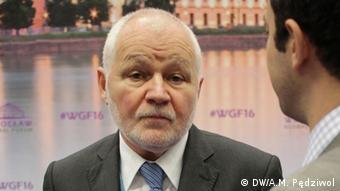 Polen Wroclaf Global Forum 2016 Jan Krzysztof Bielecki
