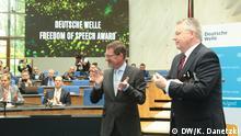 Bonn Global Media Forum GMF 02   Award Ceremony Diekmann und Limbourg