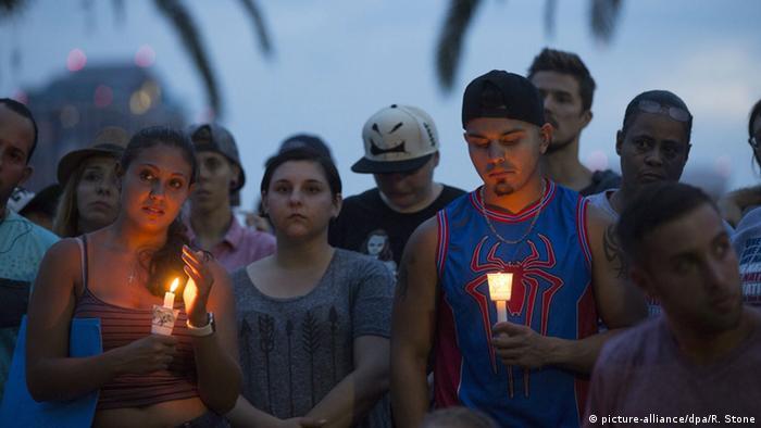 USA Orlando Trauer nach Attentat