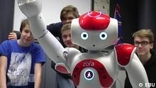 DW Shift Roboter im Klassenzimmer