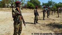 Äthiopien Soldaten