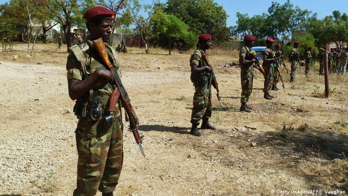 Ethiopian goverment recently told the AP news agency its army would act if provoked by Eritrea