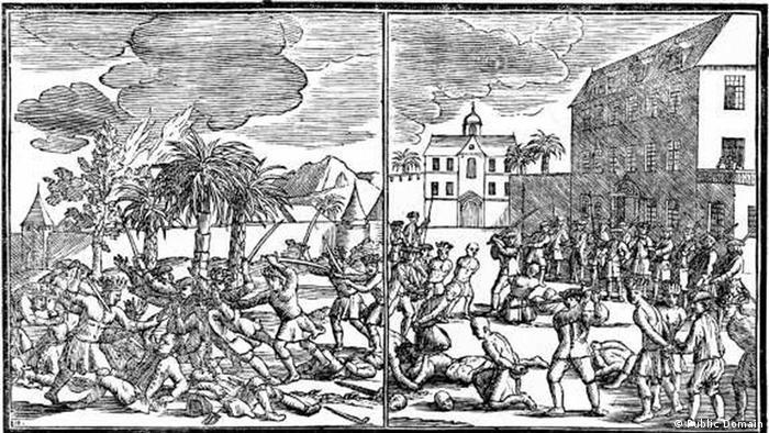 Massaker von Batavia Hinrichtung chinesischer Gefangener