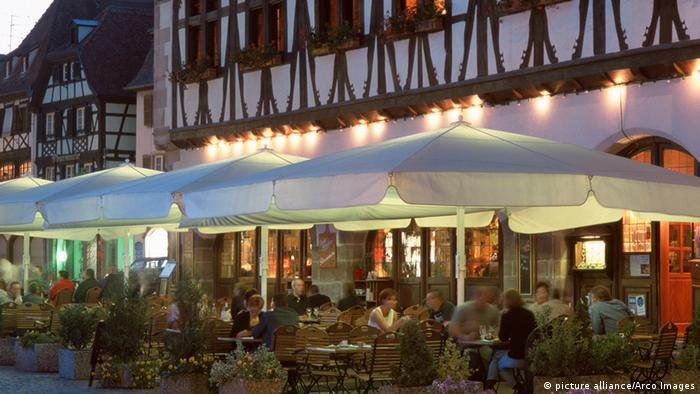 Frankreich Restaurant in Obernai