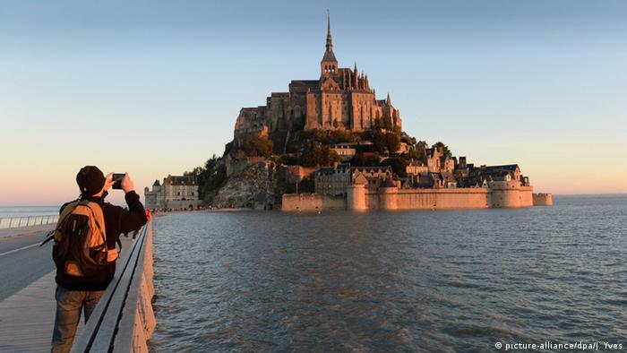 Frankreich Mount St Michel