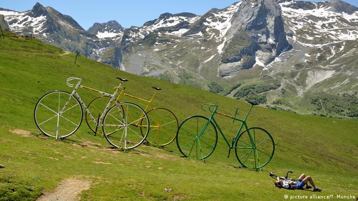 Frankreich Pyrenäen Col d'Aubisque