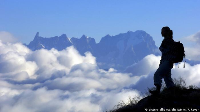 Frankreich Mont Blanc Bergmassiv
