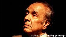 Portrait de Jorge Luis Borges (1899 - 1986) vers 1985. © Effigie/ Leemage Copyright: picture alliance/Effigie/Leemage