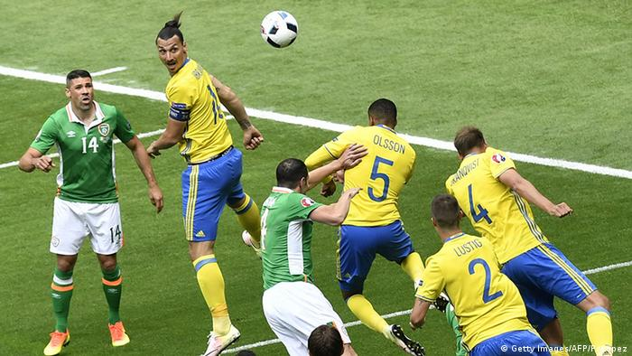 EURO 2016 Irland vs Schweden Ibrahimovic