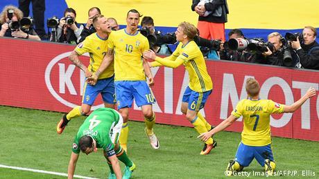 EURO 2016 Irland vs Schweden Ibrahimovic Jubel