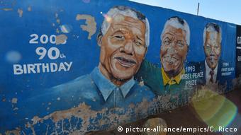 Afrika Soweto Stadtansichten Graffity (picture-alliance/empics/C. Ricco)