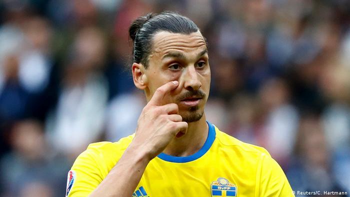 EURO 2016 Irland vs Schweden Zlatan Ibrahimovic (Reuters/C. Hartmann)