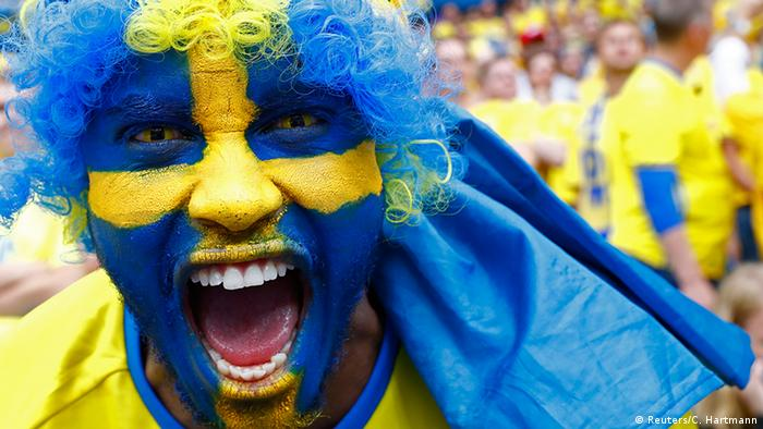 EURO 2016 Irland vs Schweden Fans