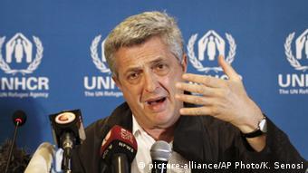 Afrika Kenia UN Abgeordneter für Flüchtling Filippo Grandi