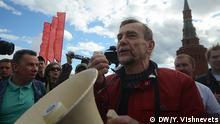 Russland Lew Ponomarew, russischer oppositionelle Politiker