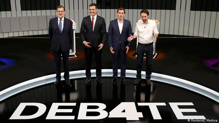 4875fcf6a7 Unidos Podemos se consolida como segunda força política na Espanha ...
